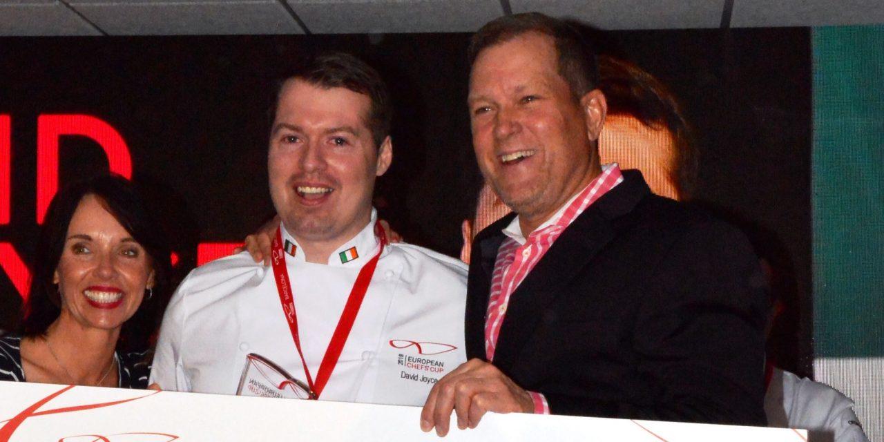 David Joyce gewinnt Europäischen Chefs' Cup