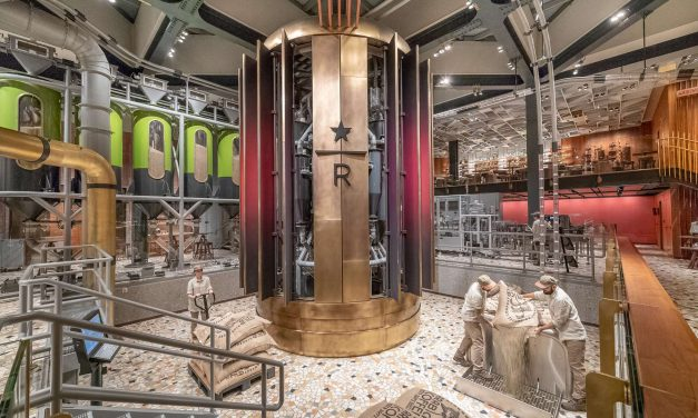 Galerie: Starbucks Reserve Roastery in Mailand