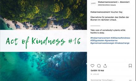 Karma Movement: Jeden Tag eine gute Tat