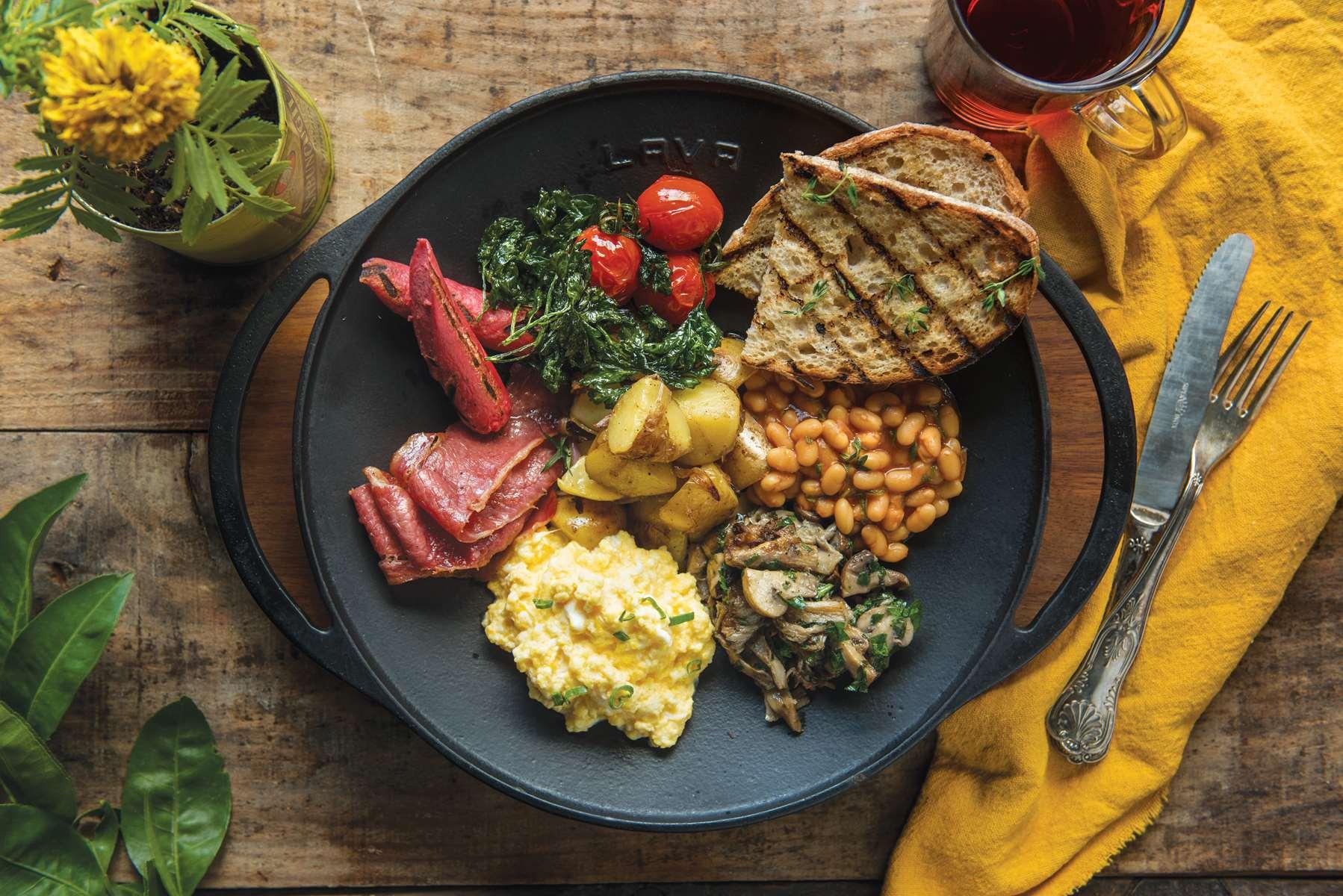 English Farm House Breakfast