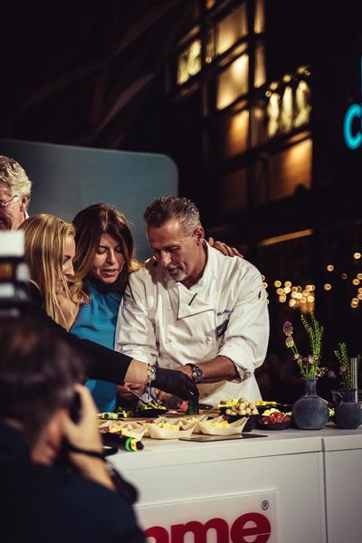 Opening_Big Chefs_Gamze Cizreli_Karl Heinz Hauser