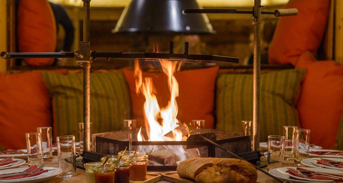 Wien: Wintergrillen im Feuerdorf