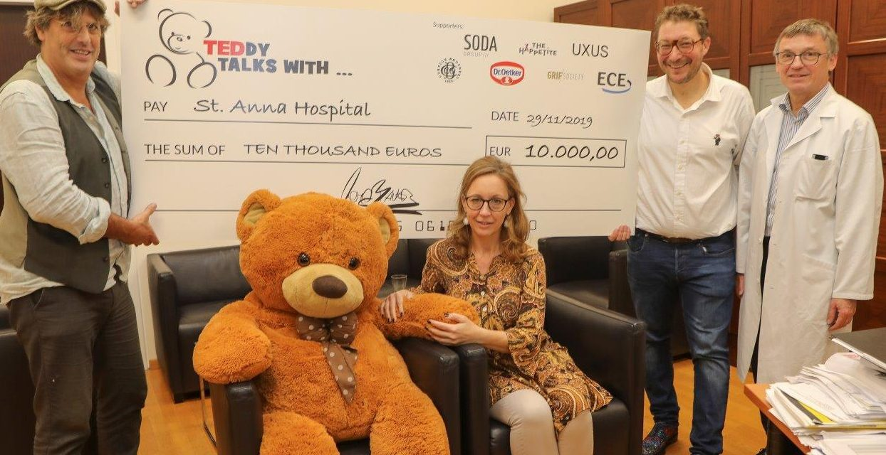 Teddy Talks: 10.000 Euro für Wiener Kinderhospital