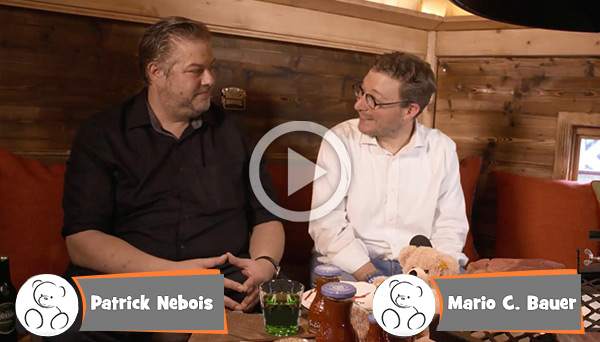 Teddy Talks: Patrick Nebois vom Feuerdorf Wien
