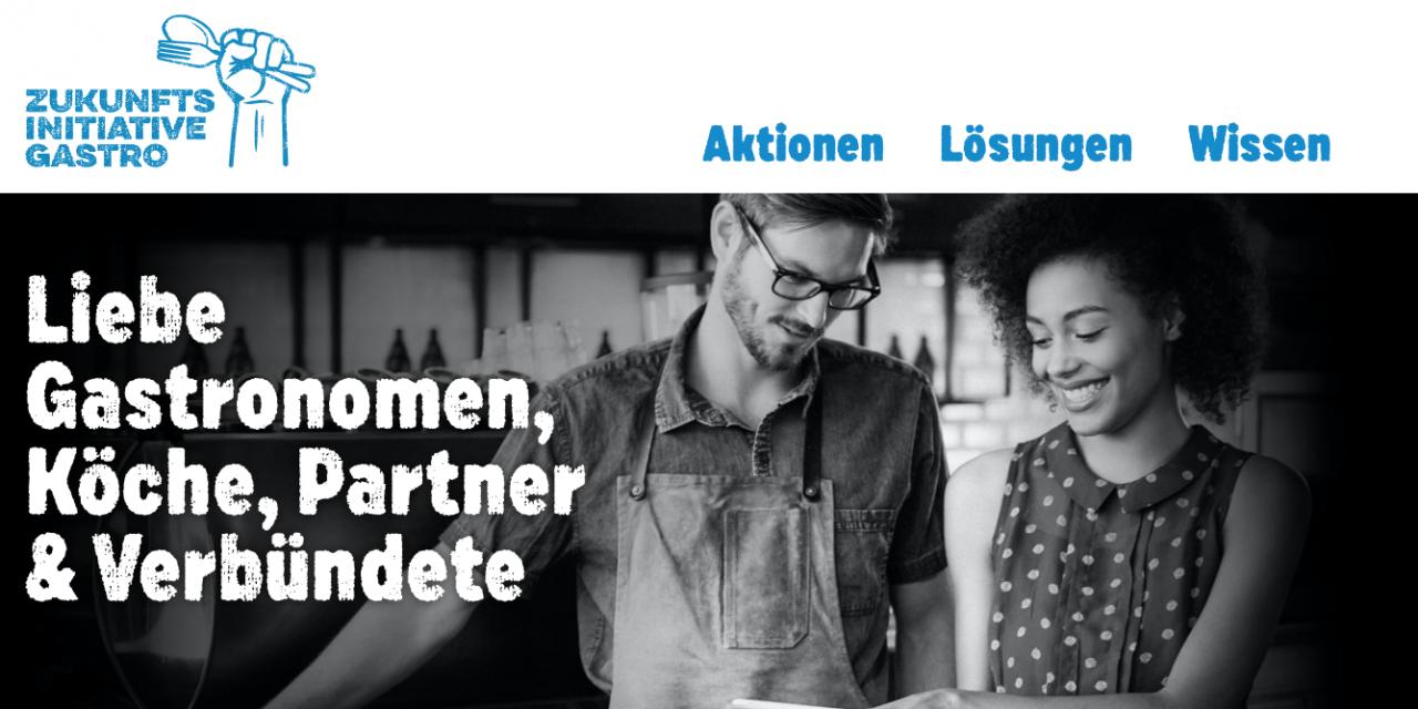 """Zukunftsinitiative Gastro: Gemeinsam zum neuen """"Normal"""""""