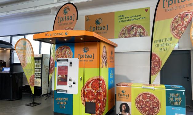 ['pitsa]: Steinofenpizza aus dem volldigitalen Automaten